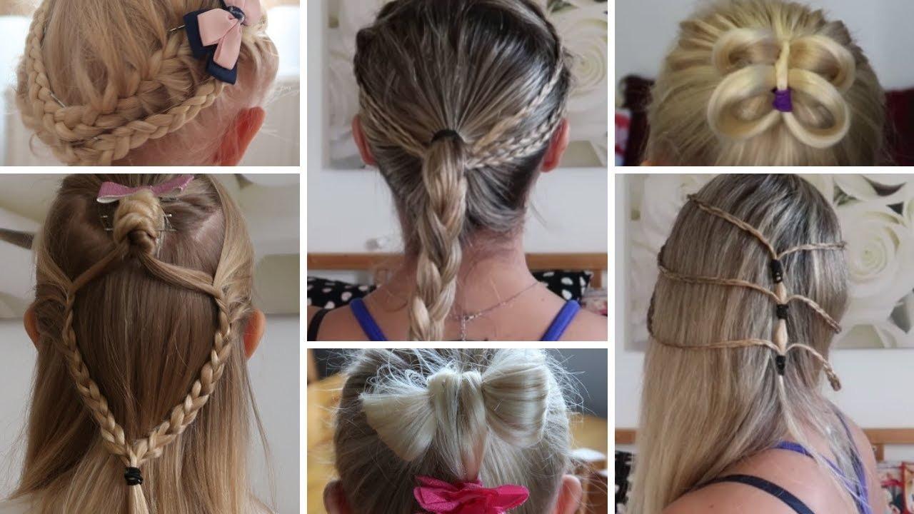 13 Easy Hairstyles Proste łatwe Szybkie Fryzury