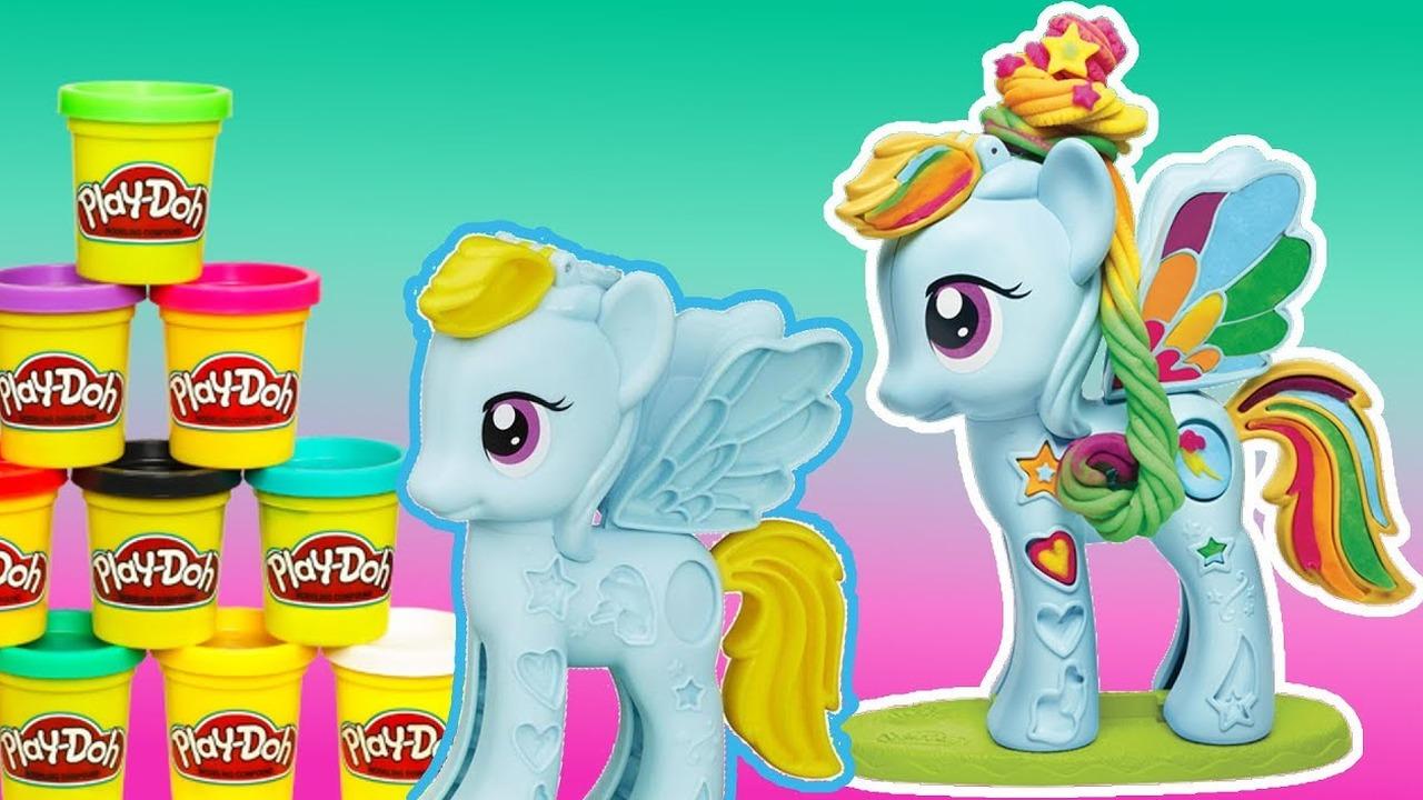 Kuchnia Lol Surprise My Little Pony Spaghetti Play Doh Bajki Dla Dzieci