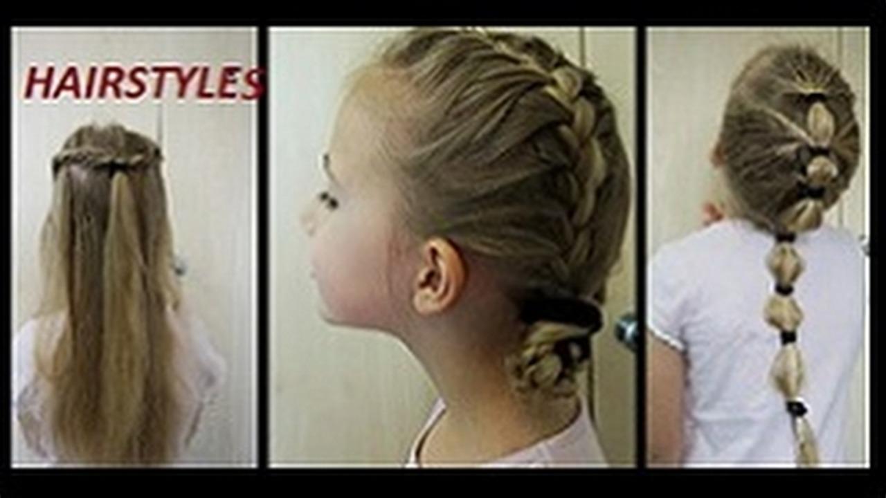 Proste Fryzury Dla Dziewczynki 5 Easy Hairstyles