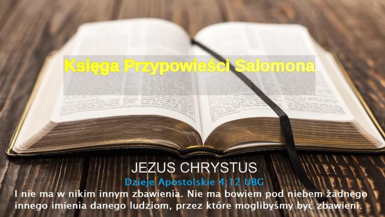 Księga Przypowieści Salomona
