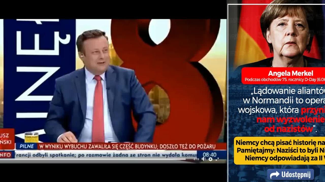 911252fbb Angela Merkel - Nowa lekcja historii ... czyli Niemcy wyzwolone od  nazistów?! - wideo w cda.pl