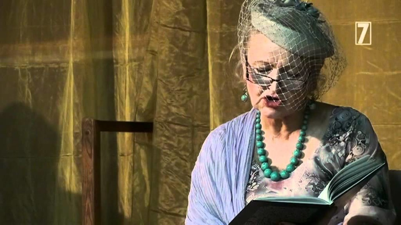 Alicja Kondraciuk Recytuje Wiersz Lusi Ogińskiej Syn Marnotrawny