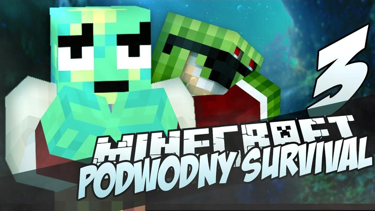 [3] MineCraft: Podwodny Świat - OOOO BEKON! /w xVojtaz