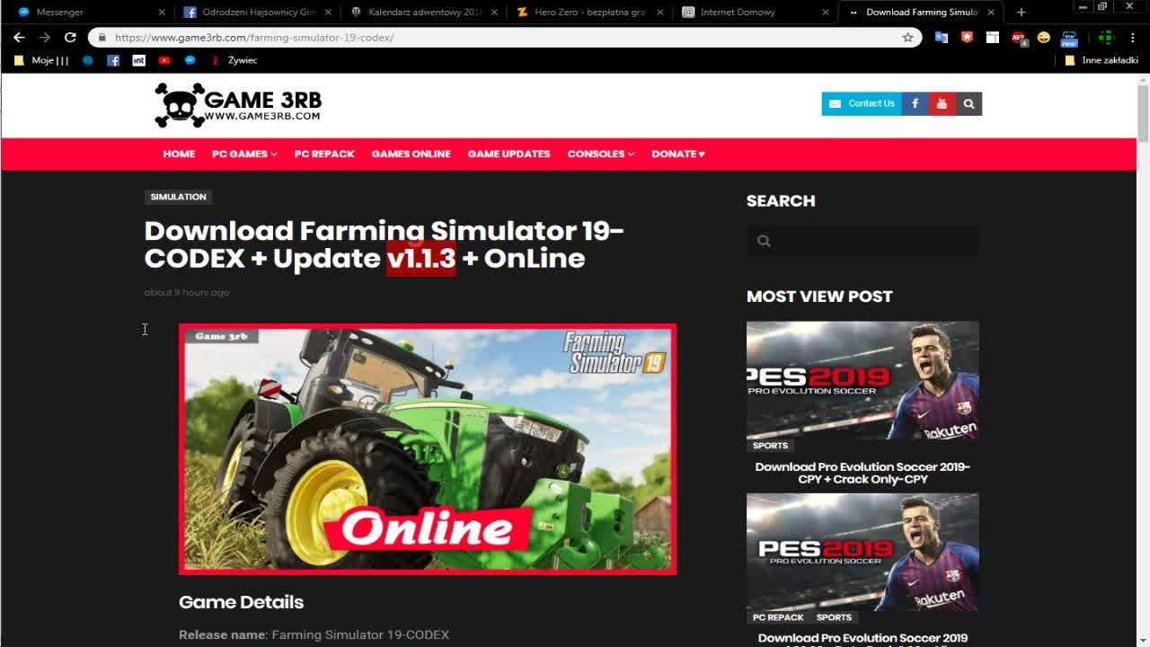 farming simulator 19 codex crack download