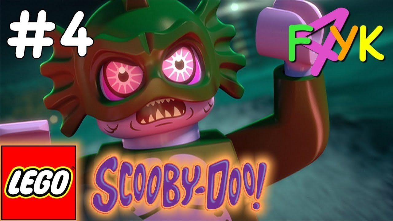 Lego Scooby Doo Escape From Haunted Isle 4 Swamp Creature