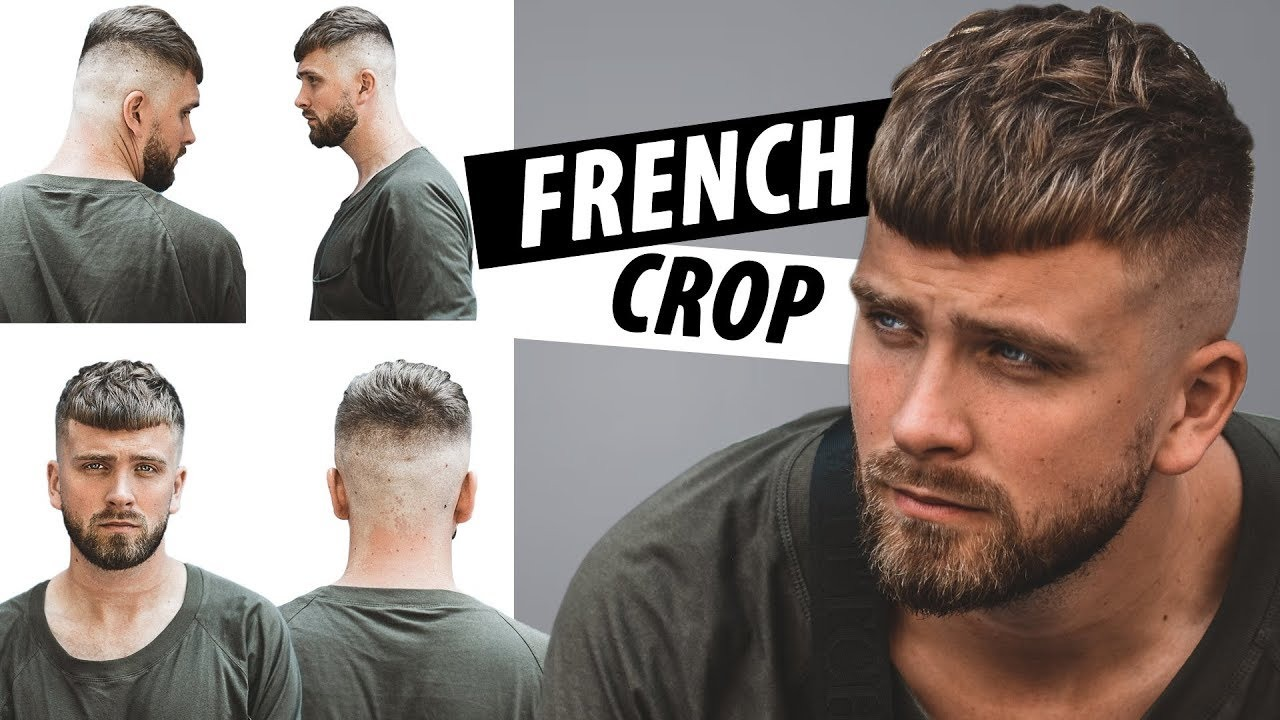 Krótka Fryzura Męska French Crop Jak Układać W Tym Stylu Włosy