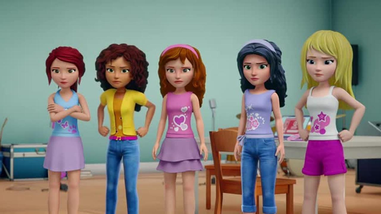 Przyjaciółki Na Zawsze Lego Friends Girlz 4 Life 2016 Dubbing