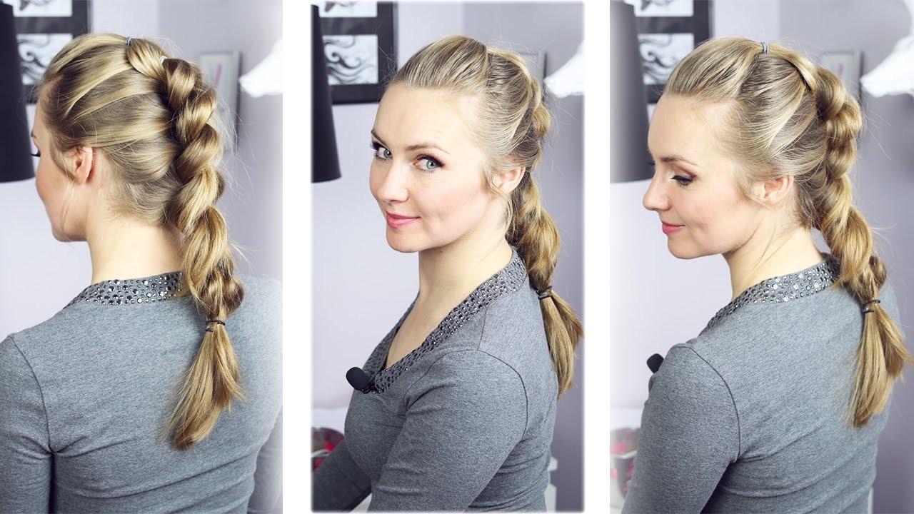 Jak Zrobić Super Efektowny Warkocz Z Gumkami Pull Through Braid