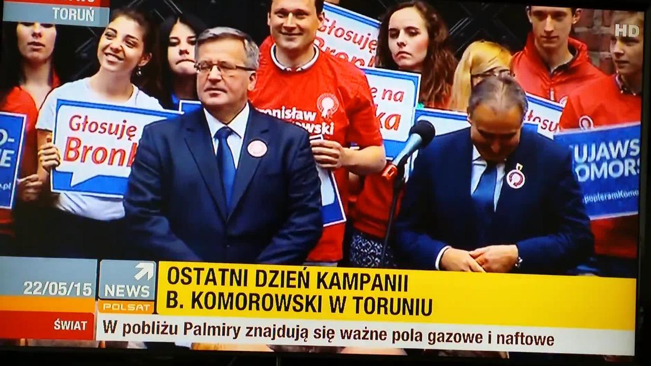 Koń Trojański Na Wiecu Komorowskiego Wideo W Cdapl