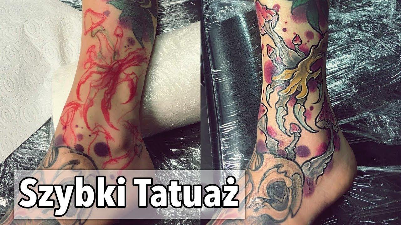 Szybki Tatuaż Neotradycyjny Fast Tattoo Neo Traditional