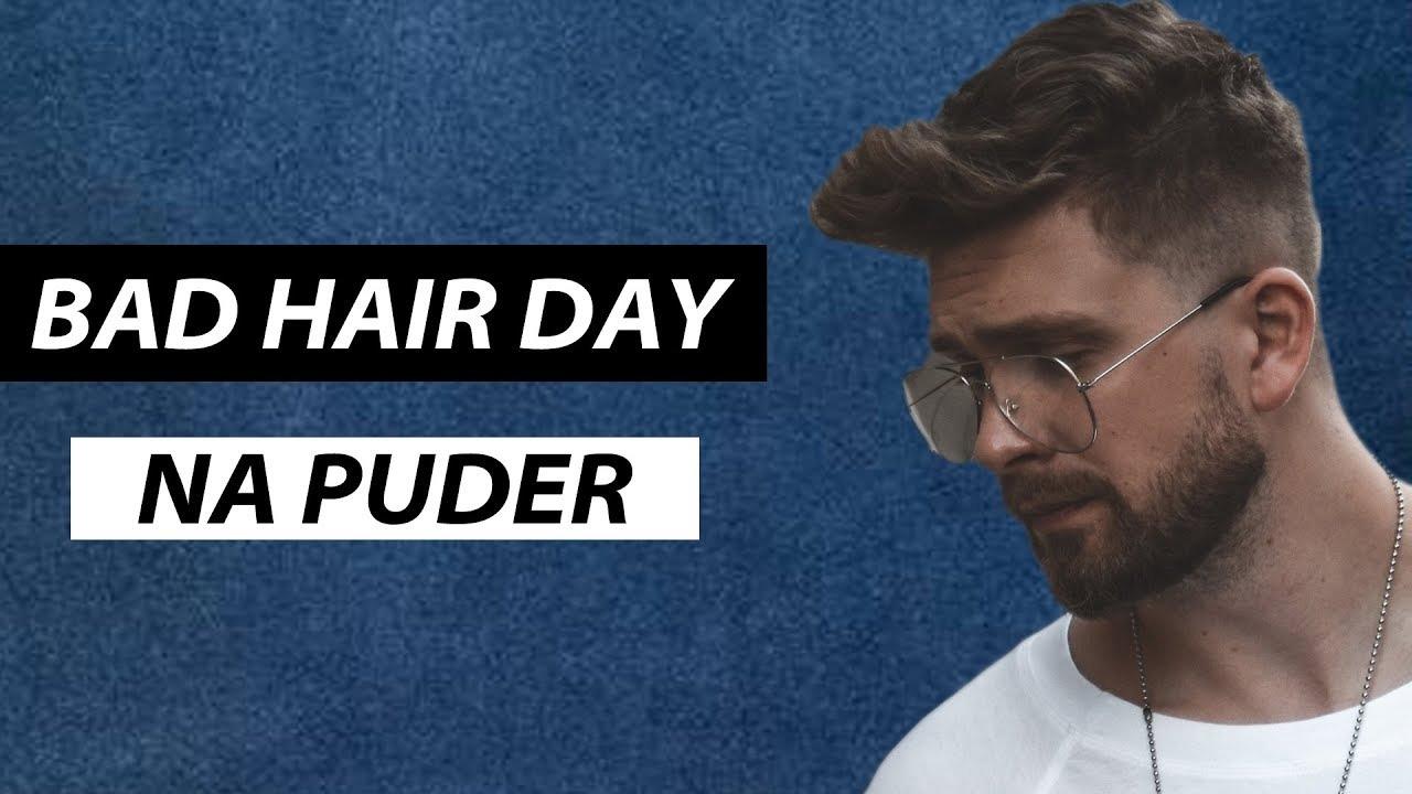 Bad Hair Day Układany Na Puder I Sól Morską Efekt Suchych Potarganych Włosów