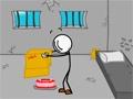 Escaping The Prison  Pomóż stickowi wydostać się z więzienia.
