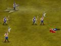 Warlords 2: Horda demonów to długo oczekiwana kontynuacja znakomitej gry strategicznej. Pomóż swoim rycerzom przedostać się na drugą stronę mapy i zdobądź teren.   Strzałka wskazuje kierunek wysyłki wojska.  Możesz poruszać strzałką klikając na kursory (strzałki). Przyciskami lewo/prawo lub A, D wybierasz pomiędzy różnymi rodzajami budowanych wojsk.   Kliknij SPACJĘ, aby zbudować wojsko.   PLAYER 1: W, S + SPACJA PLAYER 2: STRZAŁKI Góra/Dół + Enter