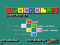 Gra która polega na tym aby doprowadzić duże kwadry do małych o tych samych kolorach       Sterowanie za pomocą myszki