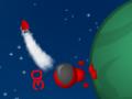 Gra w pewnym stopniu przypominająca klasyczne Worms-y. Z tą jednak różnicą, iż zawodnicy rozsiani są pomiędzy planetami, które mają swoją własną grawitację. Oczywiście jest możliwość ulepszania zawodników oraz zakupu nowej broni.  STRZAŁKI = Sterowanie ludzikiem WSAD = Kontrola kamery R = Restart rozgrywki MYSZKA = Przytrzymaj klawisz myszy i wyceluj aby strzelić