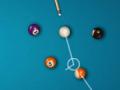 Zagraj w bilarda z zawodnikami z całego świata, znakomity multiplayer z tysiącami graczy online. Wbij wszystkie swoje bile (pełne lub połówki), a następnie wbij do łuzy czarną bilę z numerem 8.   Sterowanie = MYSZKA