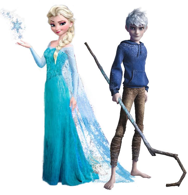 Elsa i Jack Frost