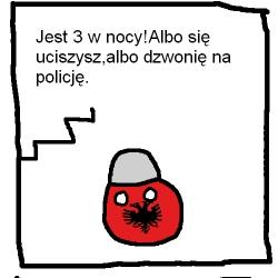 Polandball-impreza u Albanii
