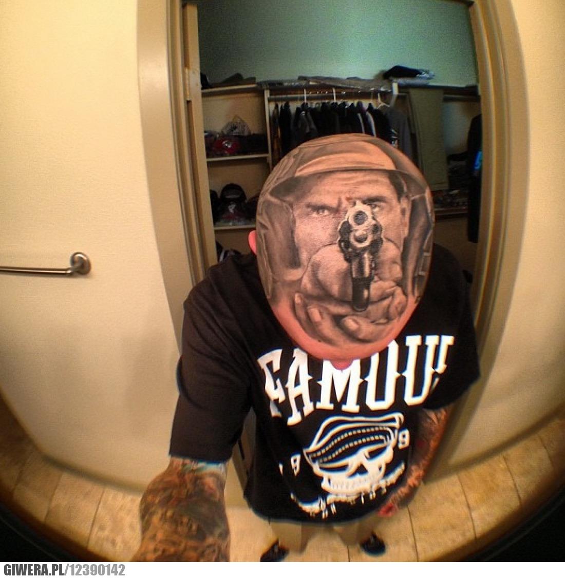 Tatuaż Na Głowie Giwerapl