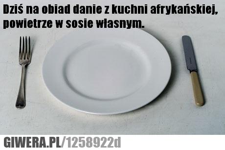 Danie Z Kuchni Afrykańskiej Giwerapl