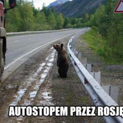 Autostopem przez rosję