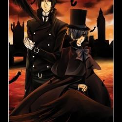 Sebastian i Ciel Kuroshitsuji