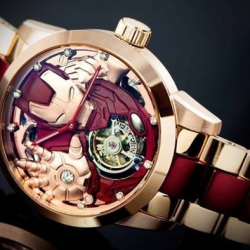 Zegarek w stylu Iron Man
