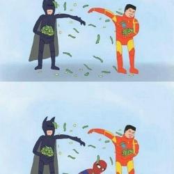 Batman kontra Iron Man