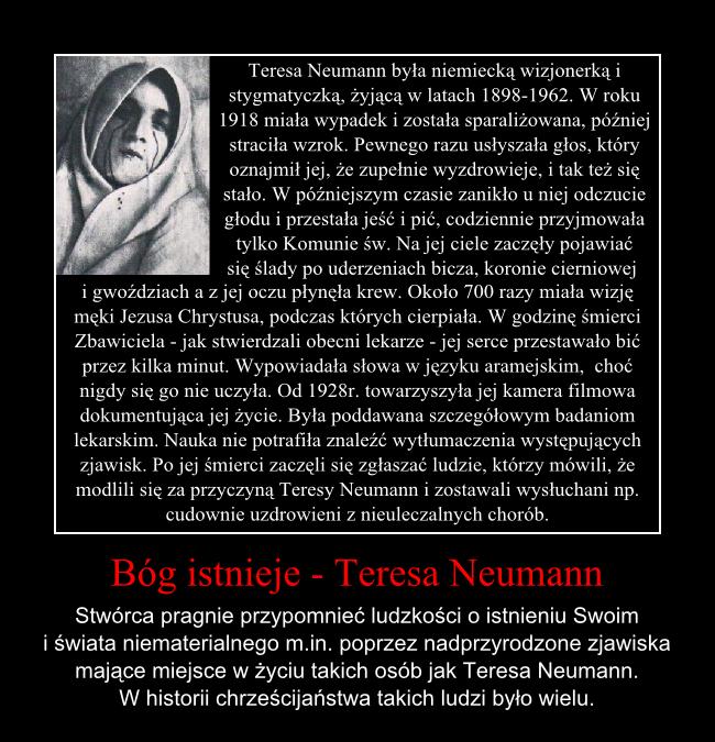 Bóg istnieje - Teresa Neumann