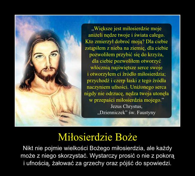 Miłosierdzie Boże