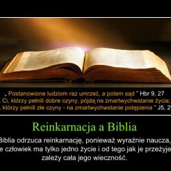 Reinkarnacja a Biblia