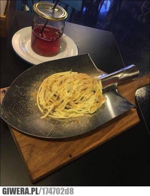 Restauracja,makaron,pasta,łopata,wtf