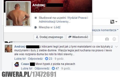 Kibice Legii,Łódź,riposta