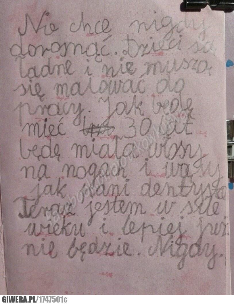 list,dziecko,marzenia