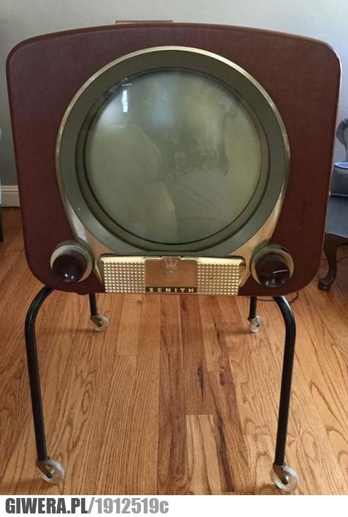 Telewizor Zenith 1950 rok