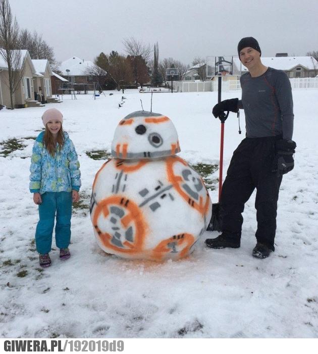 Bałwan Star Wars