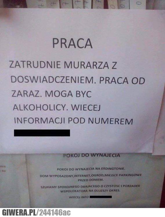 Polska,Praca,murarz,alkoholik