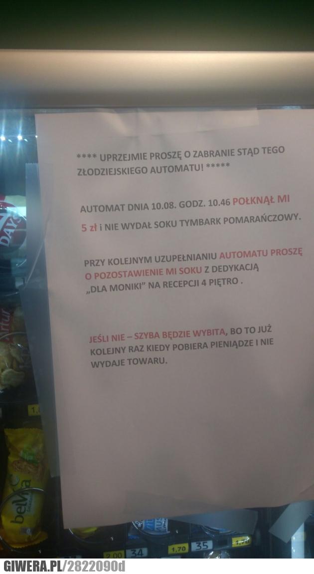 Niebezpieczna Monika,automat