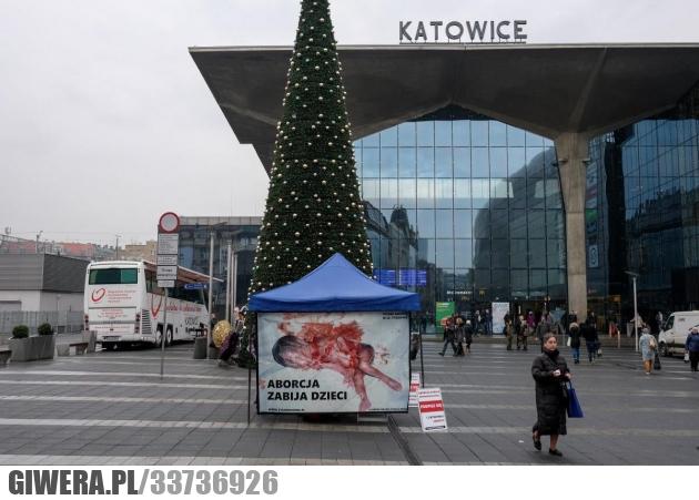 Katowice,Święta,Choinka,Aborcja