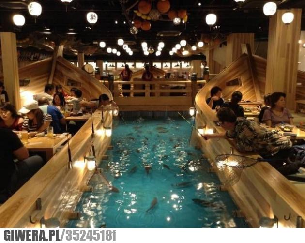 Ryba,restauracja,heheszki