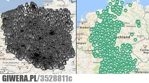 Kościoły w PL vs meczety w GER