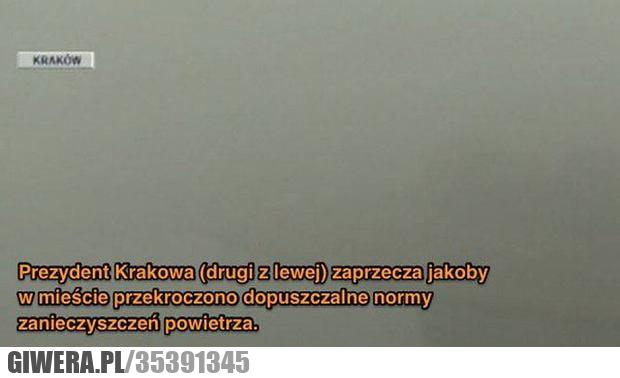 Prezydent Krakowa,Kraków,Smog