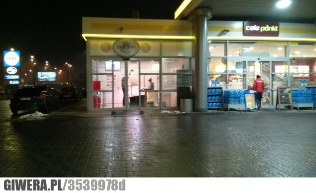 Sklep mięsny,stacja benzynowa