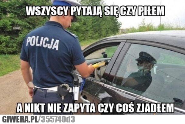 policja,picie,alkomat,jedzenie,heheszki
