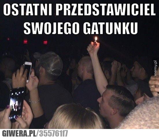 koncert,zapalniczka