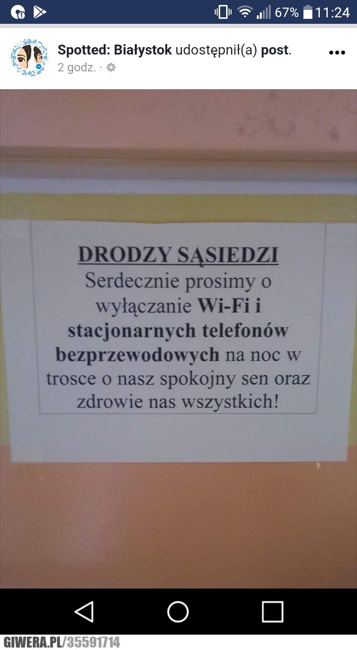 Białystok,Wifi