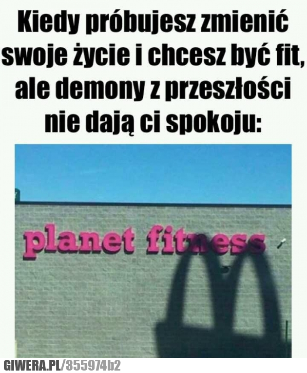 Demony przeszłości,McDonald,Siłownia,trening