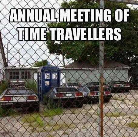 Spotkanie podróżników w czasie