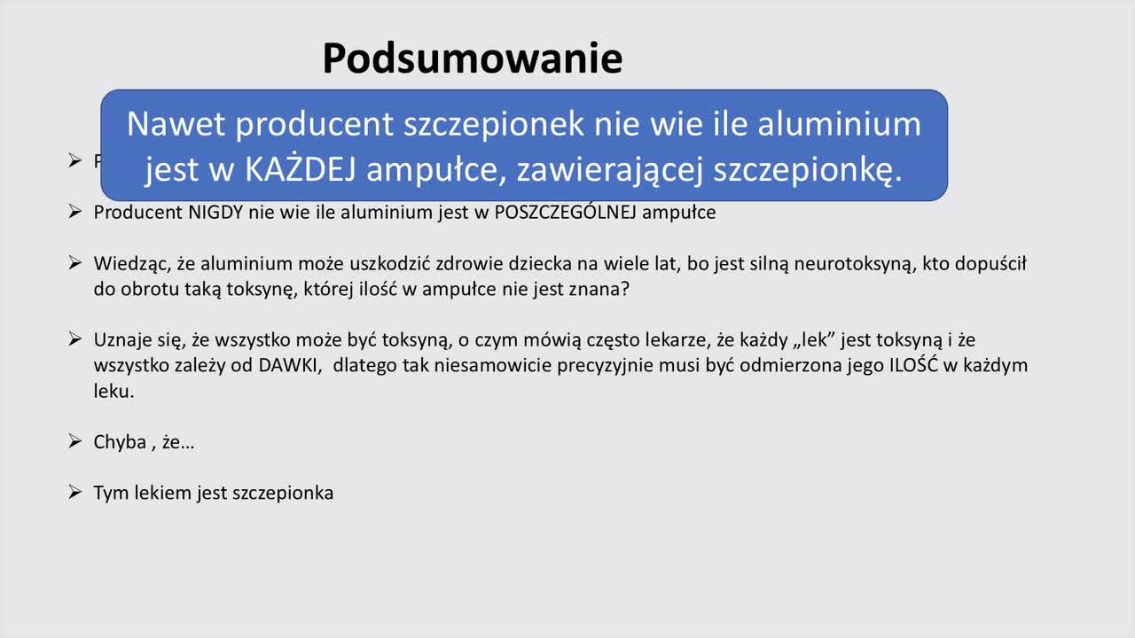 Jerzy Zięba - Szczepionki film cz. 10