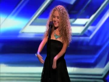 Niesamowita dziewczyna w X-Factor